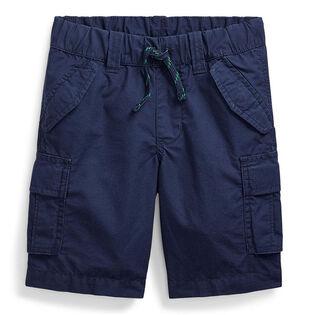 Boys' [5-7] Cotton Ripstop Cargo Short
