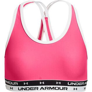 Junior Girls' [7-16] Crossback Sports Bra