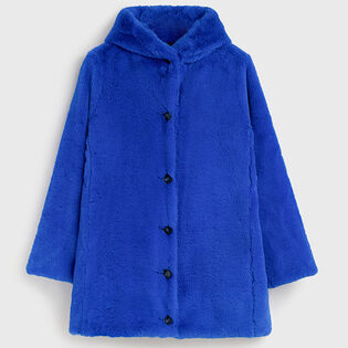 Women's Reversible Faux Fur Coat
