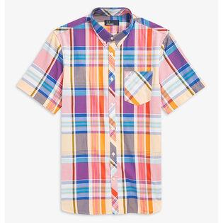 Me'Ns Madras Check Shirt