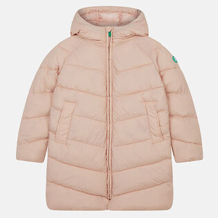 Junior Girls' [8-16] Recy Hooded Puffer Coat