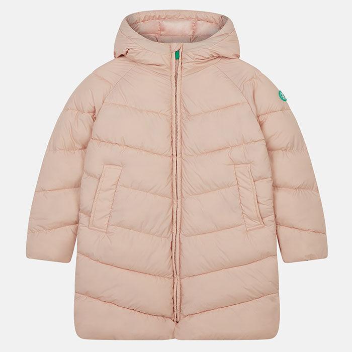 Junior Girls' [8-16] Recy Hooded Puffer Coat