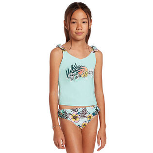 Junior Girls' [6-14] Waveback Two-Piece Tankini
