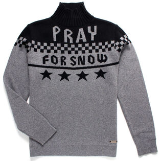 Men's Pray For Snow Pullover Sweater