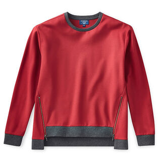 Women's Ponte Zip Top