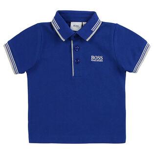 Polo en tissu piqué pour garçons [3M-3]