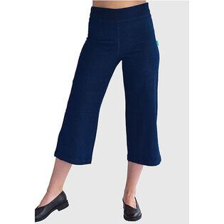 Women's Blue Ice Crop Pant