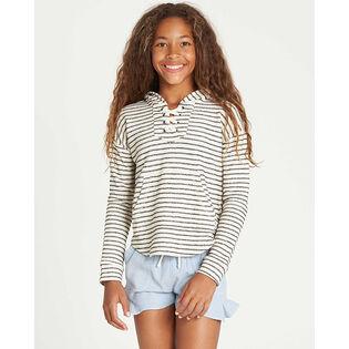Junior Girls' [7-14] Side To Side Hooded Sweatshirt
