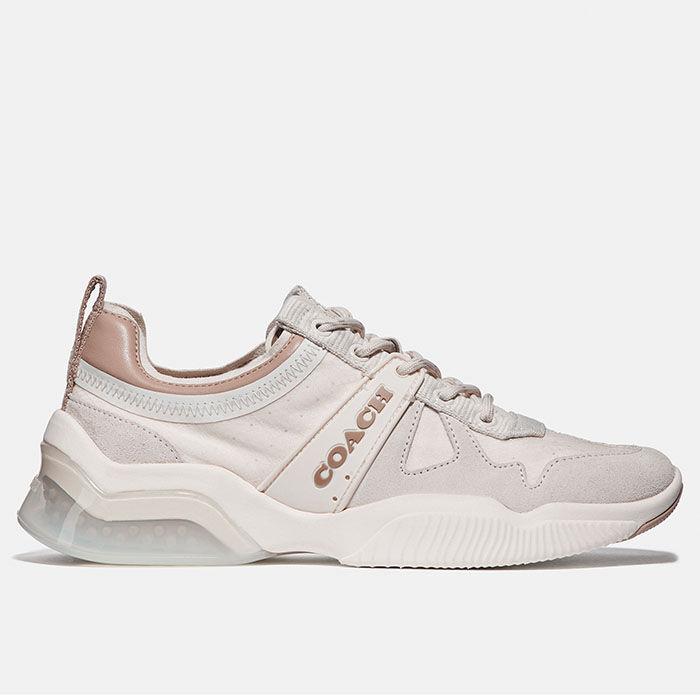 Chaussures de course CitySole en suède et en nylon pour femmes