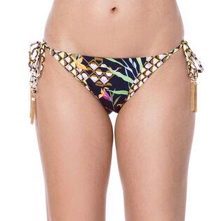 Women's Fiji Floral Mix Tie Side Bikini Bottom