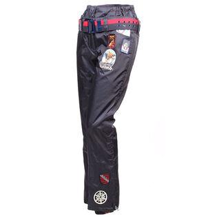 Pantalon doublé avec écussons pour femmes