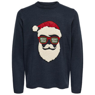 Men's Festive Knit Sweater