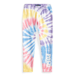 Girls' [5-6X] Tie-Dye Stretch Jersey Legging