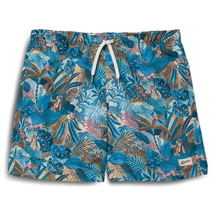 Men's Multi Watercolour Swim Trunk