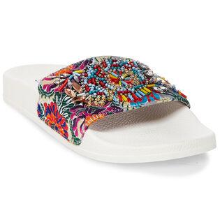 Women's Sparkly Slide Sandal