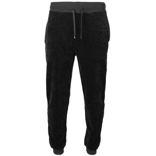 Men's Cuffed Velour Pant