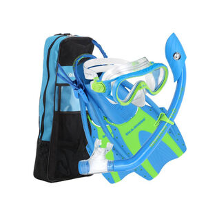 Juniors' Pro Youth Series Avalon Snorkel Set (Foot Size: 3-6)