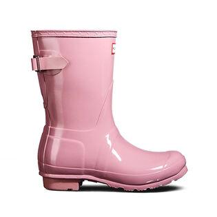 Women's Original Short Back Adjustable Gloss Rain Boot