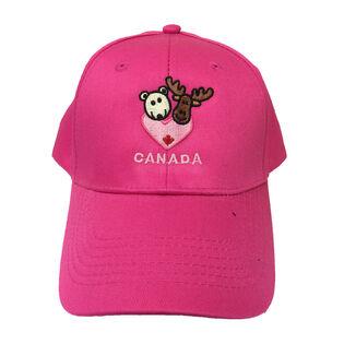 Kids' Wild Friends Canada Cap