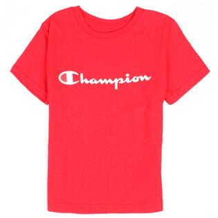 Boys' [2-7] Script Logo T-Shirt