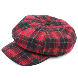 Women's Plaid Newsboy Cap
