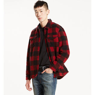 Men's Sherpa Plaid Work Shirt
