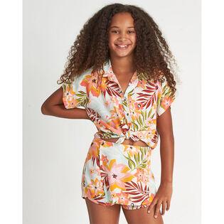 Junior Girls' [7-14] Aloha Beach Shirt