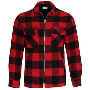 Men's Buffalo Check Zip Jacket