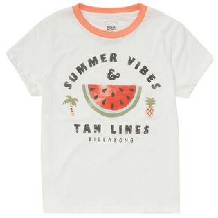 Junior Girls' [7-14] Summer Vibes T-Shirt