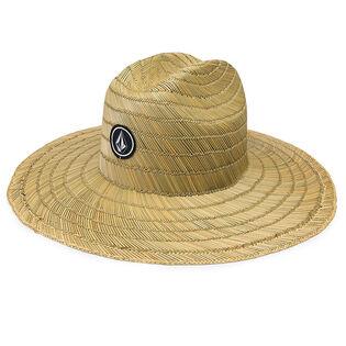 Juniors' [8-16] Quarter Straw Hat