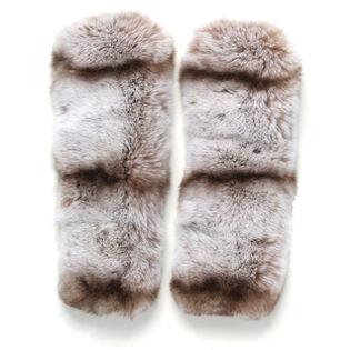 Women's Fur Clip Cuff