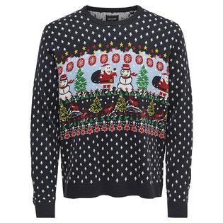 Men's Xmas Tree Knit Sweater