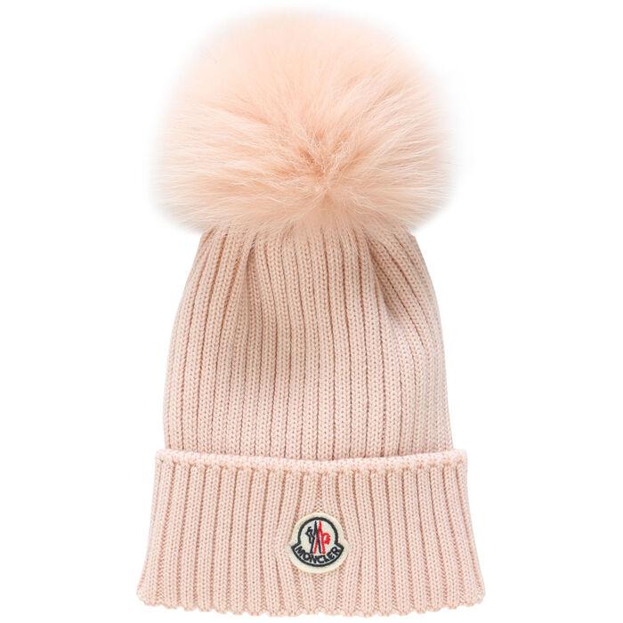 Junior Girls' Ribbed Logo Hat