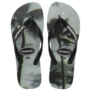 Men's Top Photoprint Flip Flop Sandal