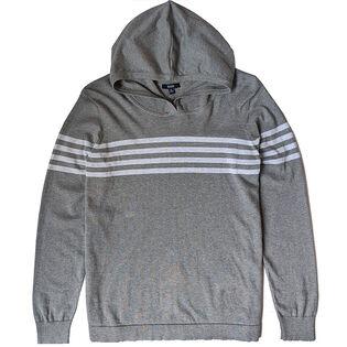 Men's Stripe Hooded Top