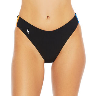Women's Racing-Stripe Bikini Bottom