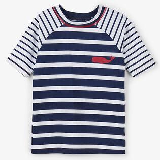 Boys' [2-6] Nautical Stripes Rashguard