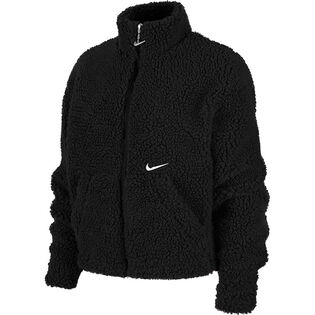 Veste sherpa Sportswear Swoosh pour femmes