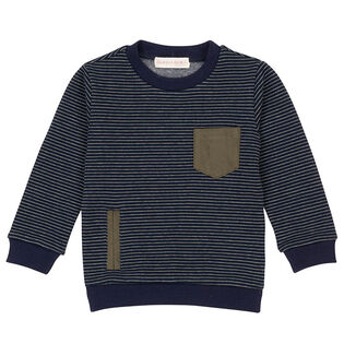 Baby Boys' [6-24M] Striped Sweatshirt