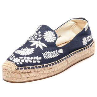Women's Ibiza Embroidered Smoking Slipper