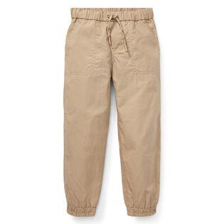 Boys' [5-7] Cotton Poplin Jogger Pant