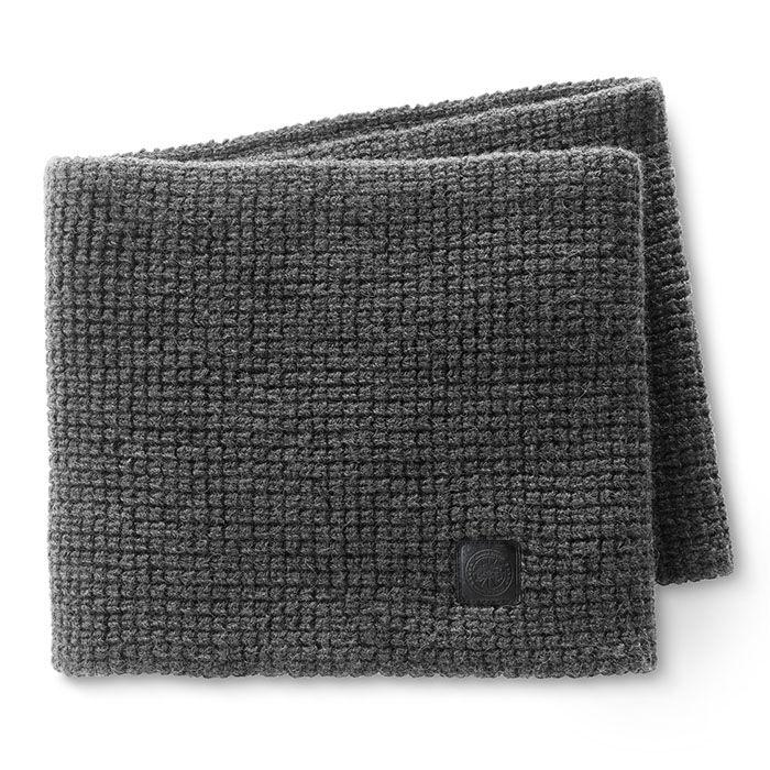 Écharpe tube en maille gaufrée pour femmes
