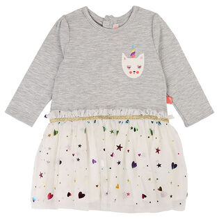 Baby Girls' [12-24M] Jersey Tulle Dress