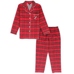 Ensemble pyjama deux pièces Royal Stewart pour femmes