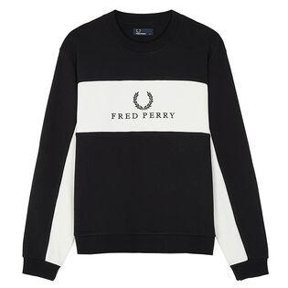 Men's Piped Sweatshirt
