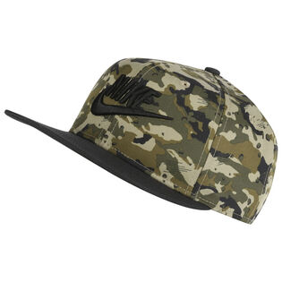 Junior Boys' [8-16] Camo Logo Cap