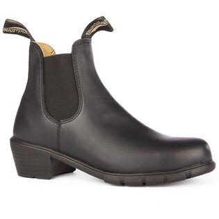#1671 Women's Series Heeled Boot In Black