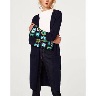 Women's Crochet Detail Cardigan