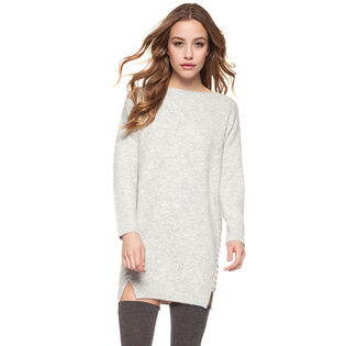 Women's Lace Side Tunic Sweater