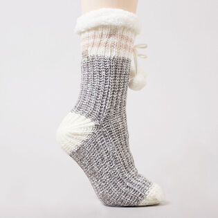 Women's Canadian Slipper Sock